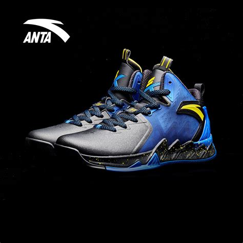 golden state warriors basketball shoes anta kt2 klay thompson golden state warriors away