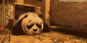 imagenes de kung fu panda cuando era bebe baby po on tumblr