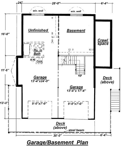 how to design basement floor plan c 511 unfinished basement floor plan from creativehouseplans
