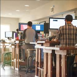 used sit stand desk research finds that workers who use sit stand desks are
