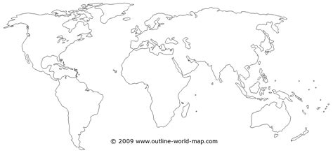 blank world physical map blank map of world continents