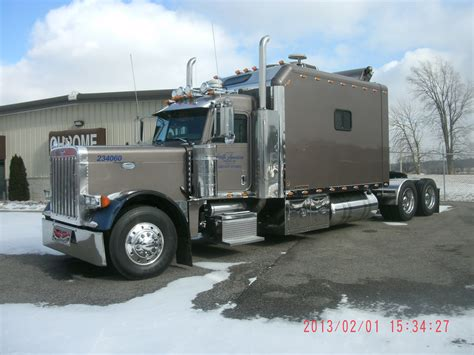 Semi Trucks With Big Sleepers For Sale by Peterbilt 379 Ict Sleeper Semi Trucks
