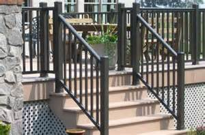 Handrail Netting Aluminum Deck Railings By Academy Fence Nj Pa Ny