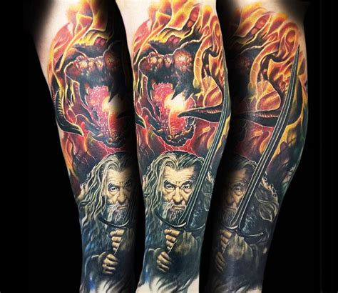 lord of the rings tattoo by alex rattray ink photo no 14098