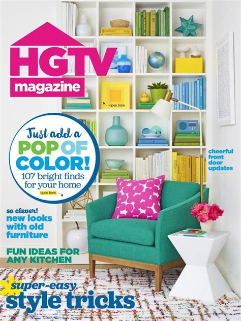 Hgtv Magazine Cover Giveaway - hgtv magazine may 2016 hgtv