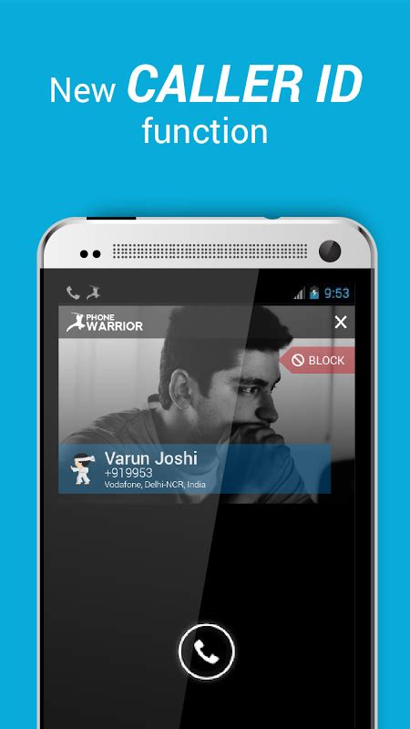 screen caller id version apk caller id block calls texts apk 5 1 1 free communication apk