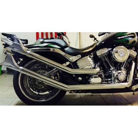 Exhaust For Harley Davidson by Upsweep Exhaust Fish Easy Rider 1986 Harley Softail