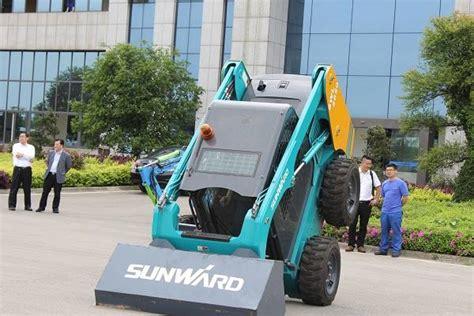 Produsen Eskavator produsen alat berat sunward incar proyek kereta cepat jakarta bandung