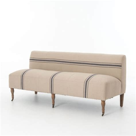 banquette settee kensington baily dining settee banquette seating
