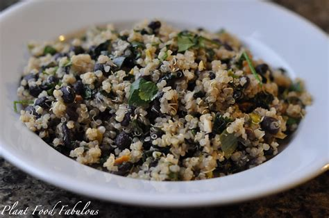 black quinoa black beans and quinoa