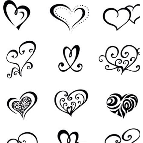 heartbeat tattoo template heart tattoo stencils pictures to pin on pinterest