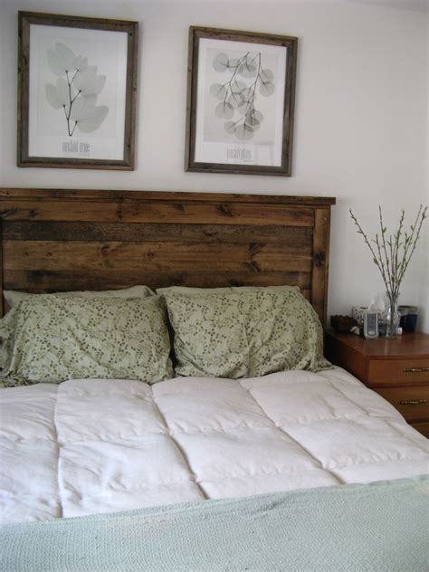 Do It Yourself Headboard Project Reclaimed Wood Look Headboard Do It Yourself Home Projects From