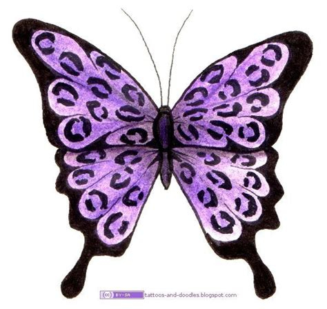 purple butterfly tattoo designs 1000 ideas about purple butterfly on