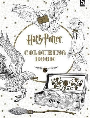 harry potter coloring book nz harry potter colouring book warner brothers 9781783705481