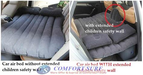 easy carry lightweight inflatable car air bed mattress