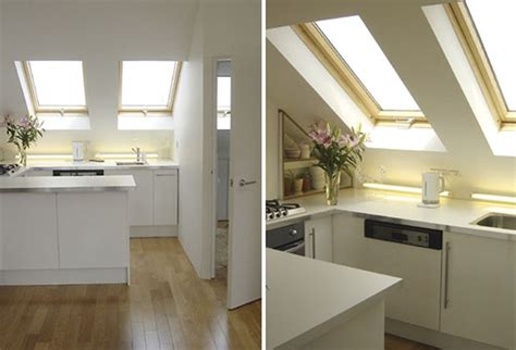 Apartment Kitchen Solutions Small Space Solutions From An Attic Apartment Apartment