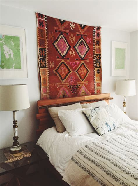 unique ways  show  bohemian rugs homemydesign