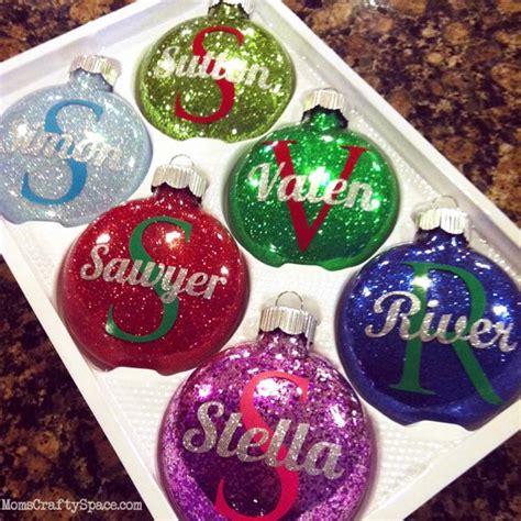 cristmas ball write name 25 diy ornaments