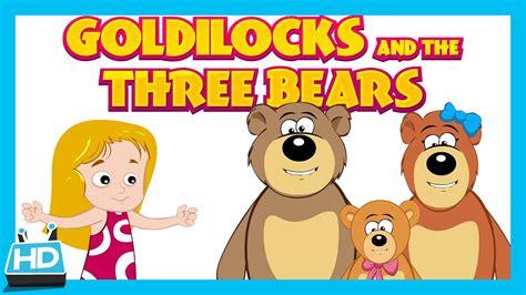 goldenlocks and the three books goldilocks and the three bears story