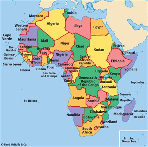 africa map 55 countries fracafrica africa the legacy of imperialism