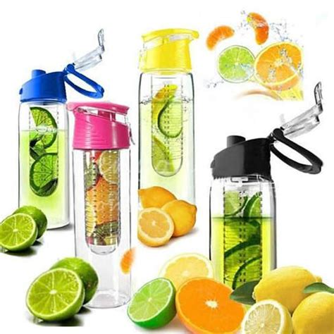 Botol Infused Water Tupperware fruit cola bottle a fruit infuser drink bottle vistashops