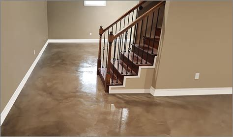 Stained Concrete Is Ideal To Enhance Interior and Exterior