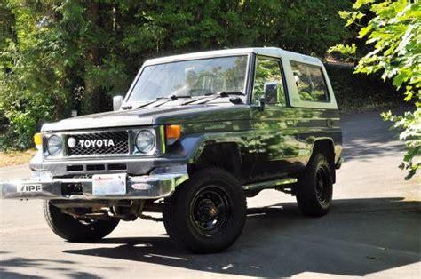 Toyota Land Cruiser Lx For Sale 1988 Toyota Land Cruiser Bj74 Lx