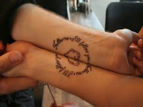 Infinity tattoo designs tattoos for couples