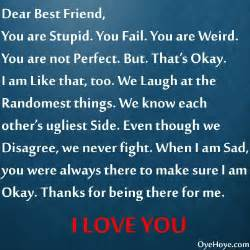 letter to best friend great quotes