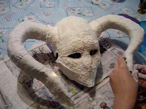 how to make ichigo s new hollows mask 6 8 youtube