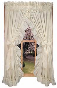 Country Ruffled Curtains Shabby Chic Curtains Ruffled Curtains Country Ruffle