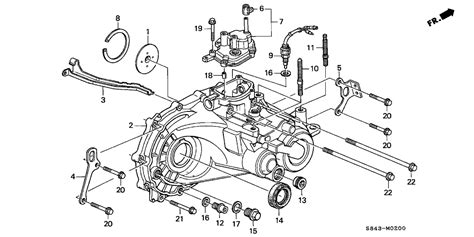 honda civic manual transmission diagram 39 wiring