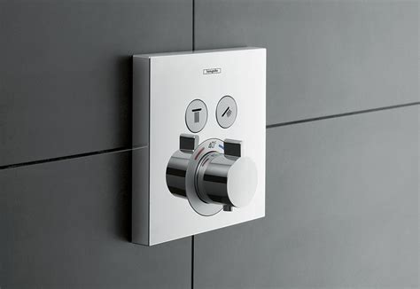 shower select concealed thermostat  hansgrohe stylepark