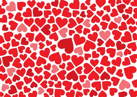 pattern heart vector heart shaped background material vector free vector 4vector