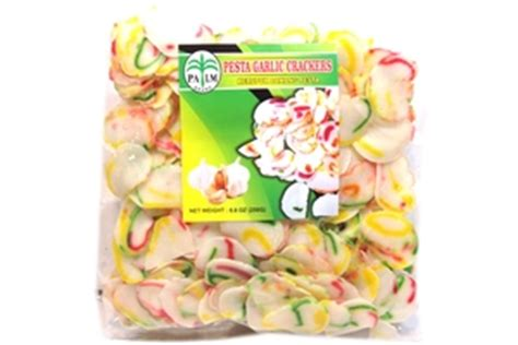 Finna Kerupuk Bawang palm kerupuk bawang pesta pesta garlic crackers 8 8oz