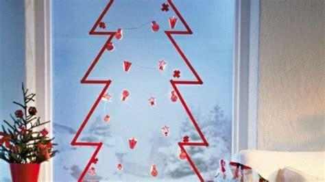 Weihnachtsdeko Fenster Baum by Fensterbilder Zu Weihnachten Originelle Bastelideen Zum