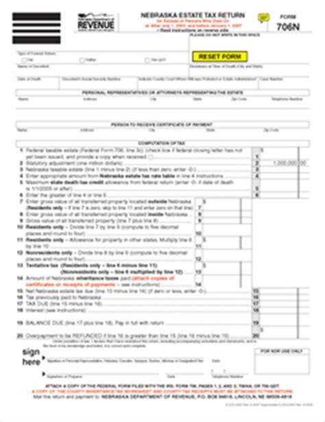 Nebraska Inheritance Tax Worksheet by Nebraska Inheritance Tax Worksheet Free Worksheets Library