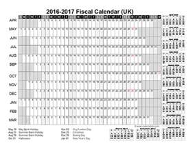 financial year calendar template 2016 fiscal year calendar uk 01 free printable templates