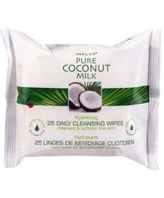 Detox Coconut Milk by Inecto Inecto Coconut Milk Daily Cleansing Wipes