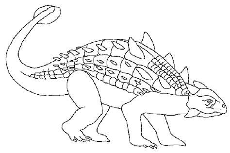 Ankylosaurus Coloring Pages Ankylosaurus Coloring Page