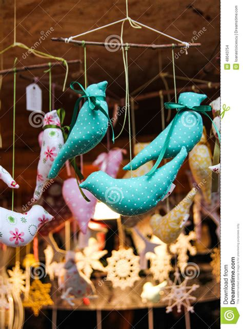 bird decorations for home stuffed bird home hanging decorations stock photo image