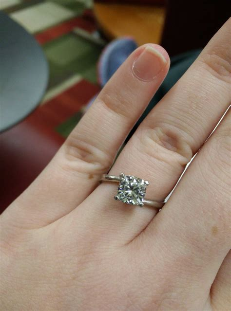 in response to questions about moissanite justengaged