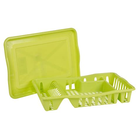 dish drainer and tray washing up counter dish drainer rack drip tray stand