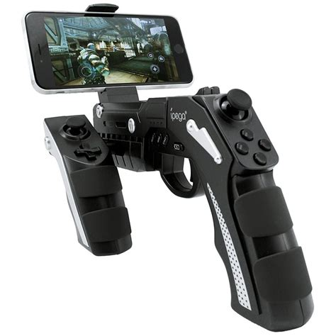 Ipega Bluetooth Controller For Smartphone And Tablet P T2709 ipega pg 9057 gamepad gun style wireless bluetooth