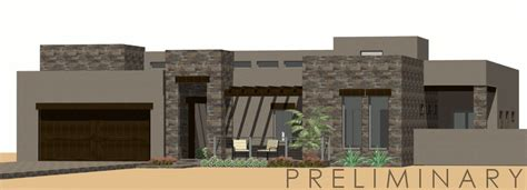 Modern Courtyard House Plan Parapet House Plans