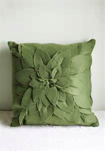 green throw pillow pillow talk