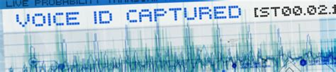 voice pattern analysis kevin s security scrapbook open your mouth and you re nailed