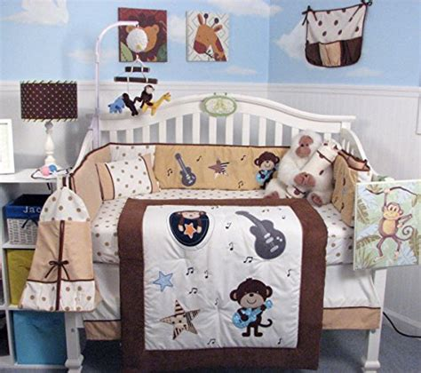 Rock And Roll Crib Bedding Guitar Theme Bedding Bedroom Decor Ideas