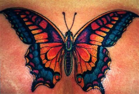 colorful butterfly tattoos sci beautiful butterfly designs