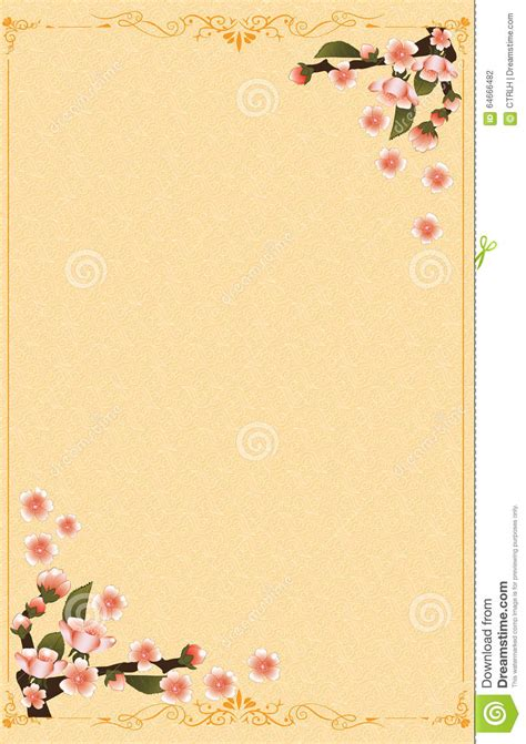 Japanese New Year Cards Template by Japanese New Year Background Stock Vector